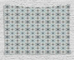 Retro Geometric Tapestry Wall Hanging Art Bedroom Dorm Room 2 Sizes Available