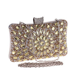 women dinner bag Luxury Evening Bag 2018 Shiny Diamond Crystal Women clutches