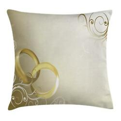 Wedding Pattern Throw Pillow Cases Cushion Covers Home Decor 8 Sizes