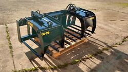 New 68 Manure Tine Grapple. Silage Rake. Hd Fits Skid Steer, Tractor, Bobcat