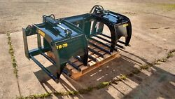 New 84 Manure Tine Grapple. Silage Rake. Hd Fits Skid Steer, Tractor, Bobcat