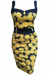 Switchblade Stiletto Daisy Retro Vintage Punk Womens Darling Dress New with Tags