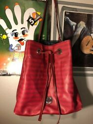 Tommy Hilfiger Red Bucket Bag New with Defects  $15.00
