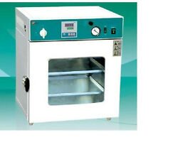 New Lab Digital Vacuum Drying Oven 250°C 12x12x11″ Cold Rolling Steel