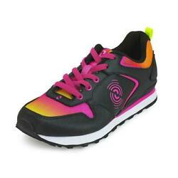 STRONG By Zumba Jogger Shoes  - Black  Sizes  6 6.5 7 8.5 10 +Free Gift!