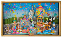 Tokyo Disney Resort Figure Display Set HAPPINESS IS HERE 30th Anniversary LE500