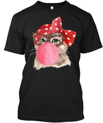 Cat Gum 0002 Hanes Tagless Tee T-Shirt