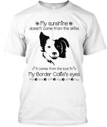 Supersoft Border Collie My Sunshine! - Sunshine Doesn't Come Premium Tee T-Shirt