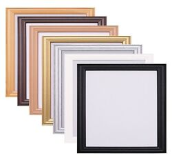 Antique Style Square Photo Picture Frame Poster Frame Black White Gold Oak Pine