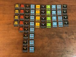 Vintage New Old Stock 1995 Camel Cigarette Matchbooks With Unused Matches