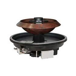 Hpc H2onfire Series Fire And Water Insert, Copper Bowl, Propane, 52