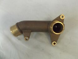 Volvo Penta New Oem Aftercooler Coolant Pipe Vop 3825869 Tamd63l-a Tamd63p-a
