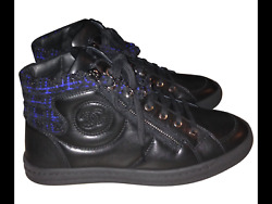 Chanel high-top sneakers new condition