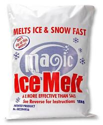 ICE MELT ORIGINAL 10 KG BAG Chemicals Cleaning - ice melt original 10 kg
