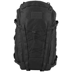 Mfh Backpack Mission 30 Military Army Rucksack Molle Paintball Trekking Black