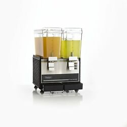 Omega Osd20 Commercial 1/3-horsepower Drink Dispenser With 2 3-gallon Containers