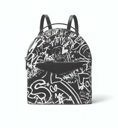 Pre sale Michael Kors Graffiti Capsule Collection Jessa convertible  backpack