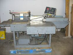 Automatic Shanklin L-sealer Model M-1 Mutipacker With 17 X 20 Sealer