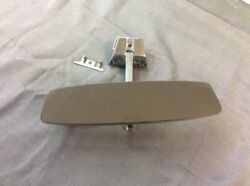 1966 Dodge Charger Rearview Mirror Rare With Mounting Steam Mount And Clips