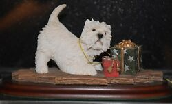 Vintage West Highland White Terrier - Leonardo
