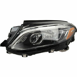 One New Marelli Headlight Assembly Left Lus7952 For Mercedes Mb
