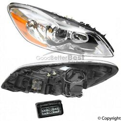 One New Marelli Headlight Assembly Right Lus6251 For Volvo C30