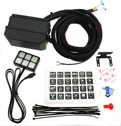6 Gang Switch Panel Relay System Circuit Control Box Fuse Relay Box For Car Boat