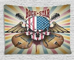 Rock Guitar Tapestry Wall Hanging Art Bedroom Dorm 2 Sizes Available