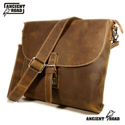 ANCIENT ROAD Genuine Leather Mens Bags CrossBoday Shoulder Bag Satchel AC199-AU