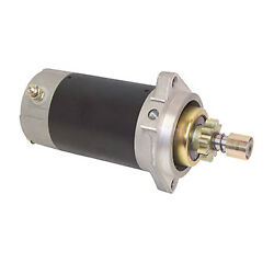 Starter Motor 11 Tooth Mes For Yamaha 25-40hp Mariner 20-40hp X-ref 689-81800,