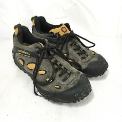 Merrell Chameleon Wrap Ventilator Continuum Men 8 Gray Suede Vibram Hiking Shoes