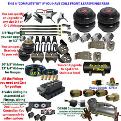 B Air Suspension -complete 1984-1995 Toyota Pickup 2wd
