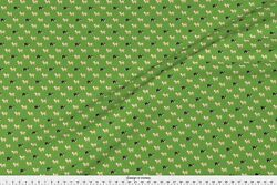Border Collie Border Collies Herding Sheep Fabric Printed by Spoonflower BTY