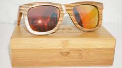 Specs of Wood Authentic Sunglasses New Wood Fire Mirror 54 20 140 $113.09