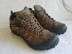 Merrell Chameleon 4 Ventilation Hiking Gore-Tex Brown Stone Men's Shoes Size 8.5