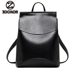 Backpack High Quality Youth Leather Backpacks for Teen Girls School Shoulder Bag