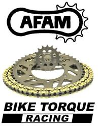 Tm 450 Mx/enduro 4 Stroke 05-13 Afam Recommended Chain And Sprocket Kit