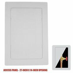 Plastic Easy-snap Wall Or Ceiling Access Panel For 27 X 14 Opening