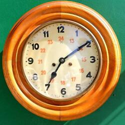 Hamburg American Antique 8 Day 2 Train Dial Clock Striking And Repeating