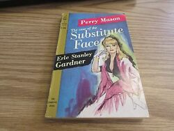CASE OF THE SUBSTITUTE FACE - PERRY MASON - GARDNER - 1960 VINTAGE PAPERBACK
