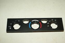 Toyota 4Runner Tacoma Heater AC Climate Control Unit Faceplate 01 02 03 04