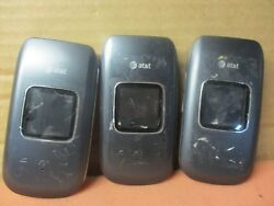 Lots of 3 Pantech P2030 Breeze III 3 AT&T Phone-untested-