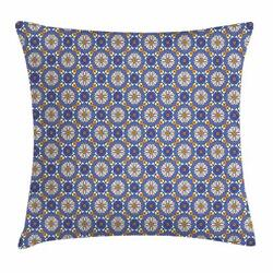 Tribal Geometry Throw Pillow Cases Cushion Covers Home Decor 8 Sizes Ambesonne