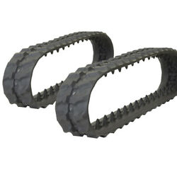 Pair Of Prowler Ditch Witch Sk350 Rubber Tracks - 180x72x32 - 7