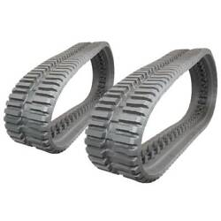 Pair Of Prowler Takeuchi Tl130 At Tread Rubber Tracks - 320x86x52 - 13