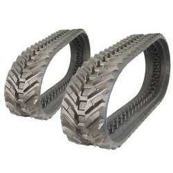 Pair Of Prowler Cat 259b3 Snow And Mud Rubber Tracks - 320x86x53 - 13