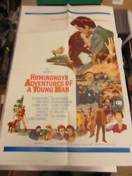Arthur Kennedy Hemingwayand039s Adventures Of A Young Man Orig 27x41 Poster Mp171