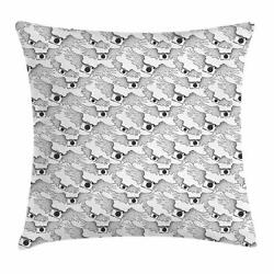 Vintage Camera Throw Pillow Cases Cushion Covers Home Decor 8 Sizes