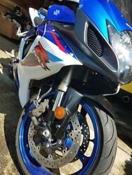 2007 GSXR 600 motorcycle