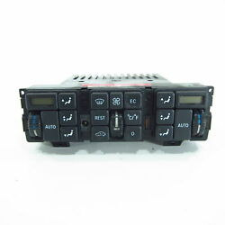 climate control panel Mercedes S-Class C140 W140 Heating  air control panel